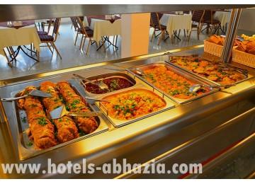 Питание в пансионате «Сан-Марина» г.Гагра