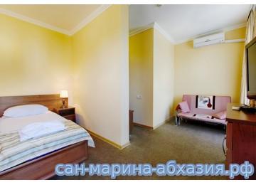 Улучшенный 2-местный | Пансионат Сан-Марина Гагра Абхазия